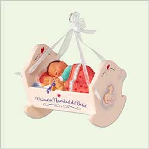 2005 Baby's First Christmas - Spanish Hallmark Ornament