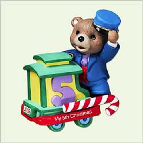 2005 Child's 5th Christmas - Bear