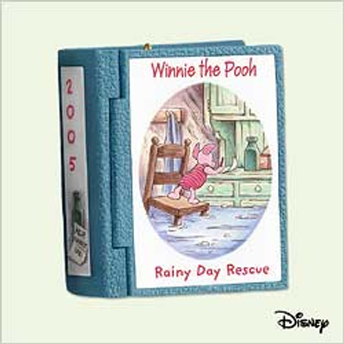 2005 Winnie The Pooh - Book #8 - Rainy Day Rescue
