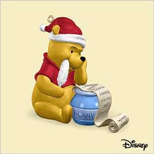 2006 Winnie The Pooh - Pooh's Christmas List