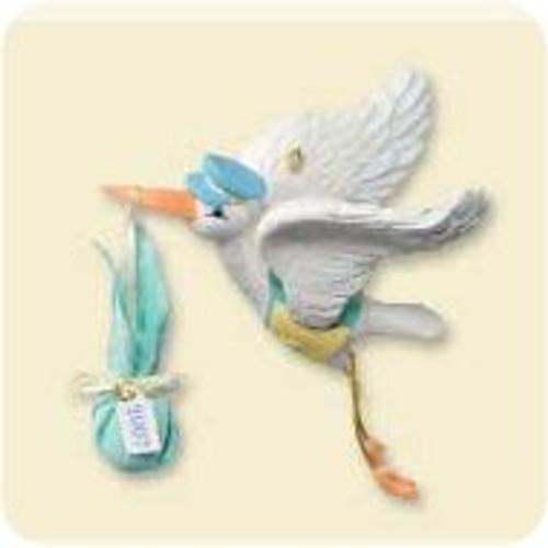 2007 Baby's 1st Christmas - Stork