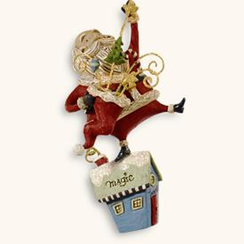 2008 Santa - Magic Man!