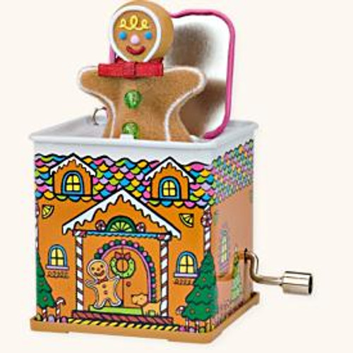 2008 Jack In The Box #6 - Pop Goes Gingerbread Man