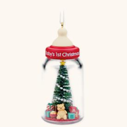 2008 Baby's 1st Christmas - Bottle