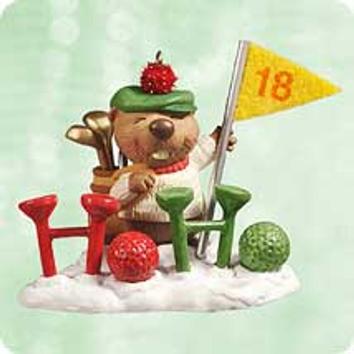 2003 Gopher Par Hallmark ornament