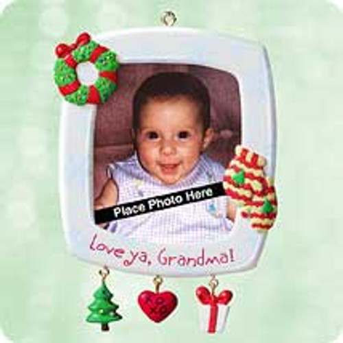 2003 Grandma - Photo Holder Hallmark ornament