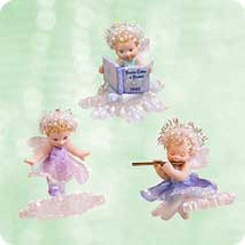 2003 Frostlight Faerie Sisters Hallmark ornament