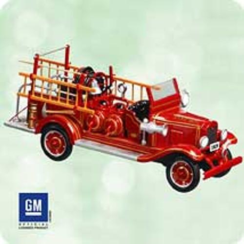2003 Fire Brigade #1 - 1929 Chevrolet Hallmark ornament