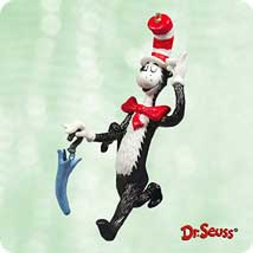 2003 Dr Seuss - The Cat Arrives Hallmark ornament