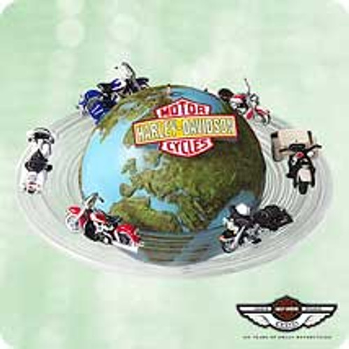 2003 Harley - Around The World Hallmark ornament