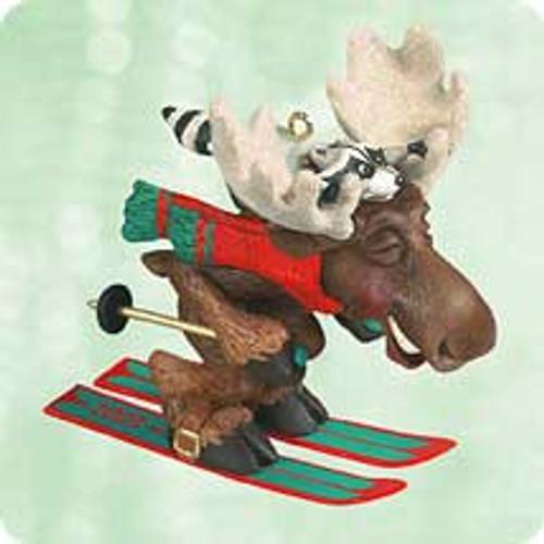 2003 Moose On The Loose Hallmark ornament