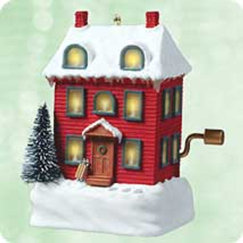 2003 I'll Be Home For Christmas Hallmark ornament