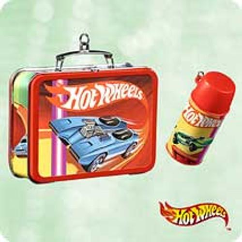 2003 Hot Wheels Lunchbox Hallmark ornament