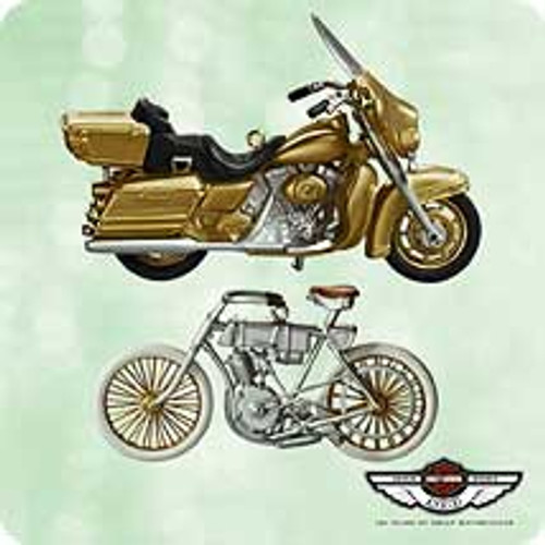 2003 Harley Davidson - 100th Anniversary Hallmark ornament
