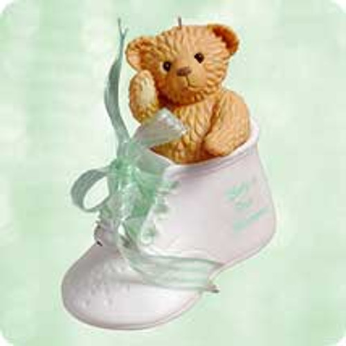 2003 Baby's 1st Christmas - Shoe Hallmark ornament