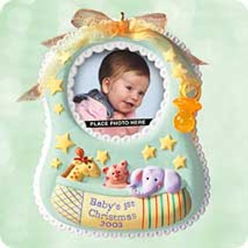 2003 Baby's 1st Christmas - Photo Hallmark ornament