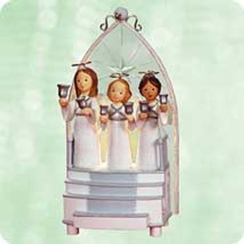 2003 Angels We Have Heard Hallmark ornament