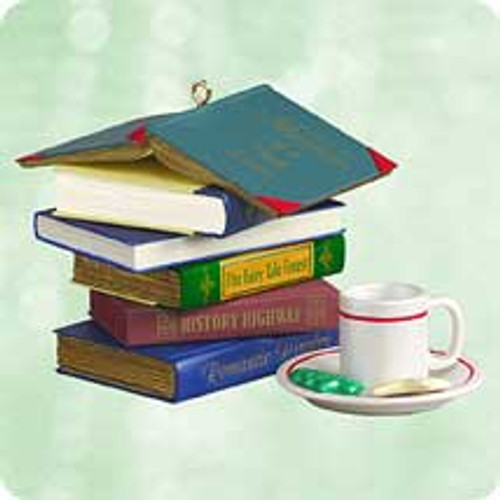 2003 Adventures Of A Book Lover Hallmark ornament