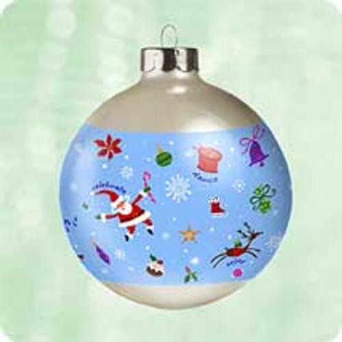 2003 Celebrate Decorate Enjoy Hallmark ornament