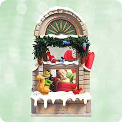 2003 Christmas Windows #1 - Club Hallmark ornament