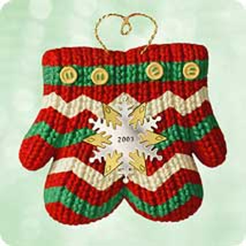 2003 Christmas Tree Gift Clip Hallmark ornament