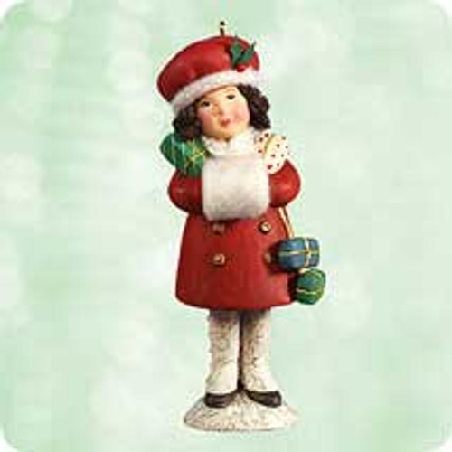 2003 Chalk- Sweet Shopper Hallmark ornament