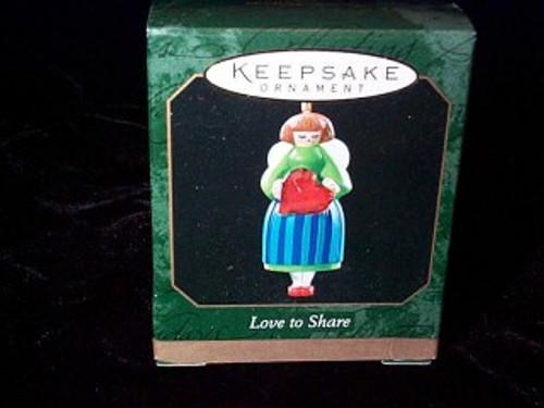 1999 Love To Share - Miniature