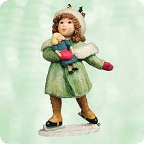 2003 Chalk- A Very Good Girl Hallmark ornament