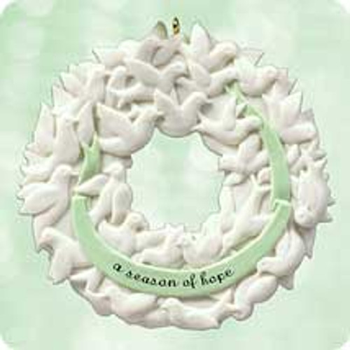 2003 Wreath Of Peace Hallmark ornament