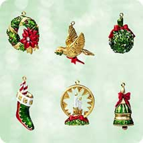 2003 Symbols Of Christmas -Club Hallmark ornament