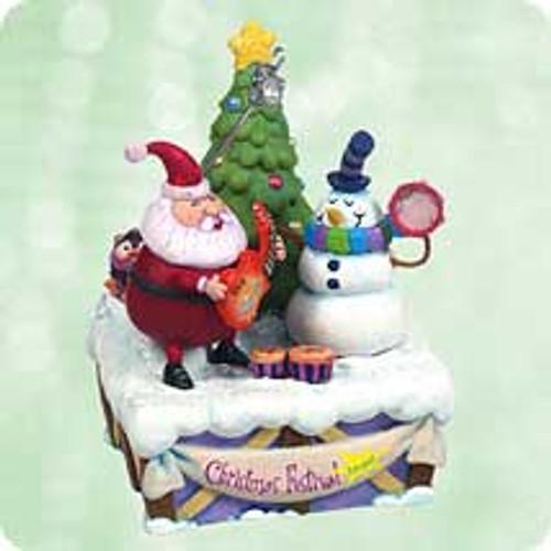 2003 Play It Again Santa Hallmark ornament
