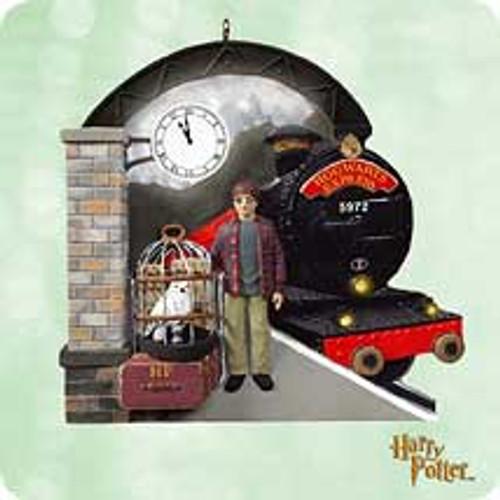 2003 Harry Potter - Platform 9 34 Hallmark ornament