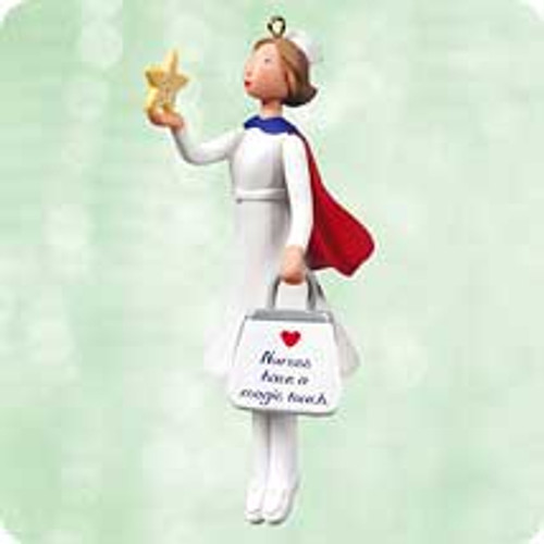 2003 Nurse w A Magic Touch Hallmark ornament