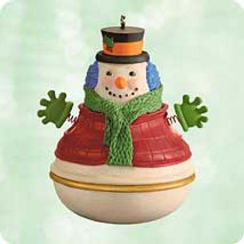 2003 Snowman Surprise Hallmark ornament