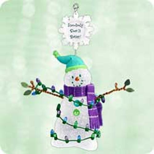 2003 Snow - Body Does It Better Hallmark ornament