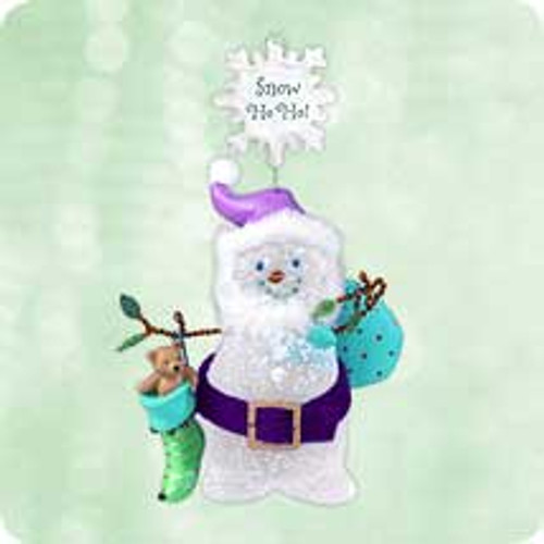 2003 Snow - Ho Ho Hallmark ornament