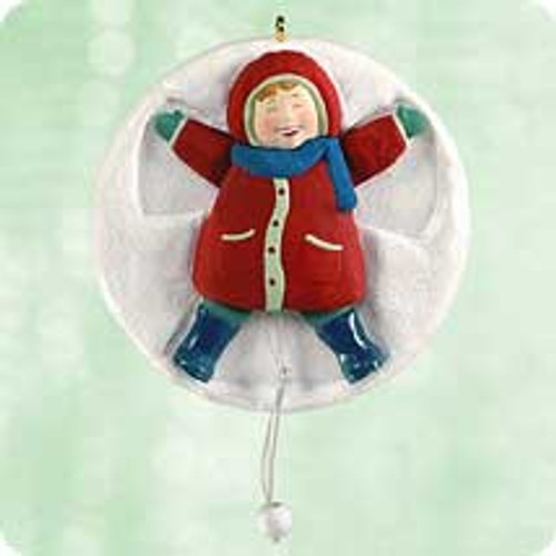 2003 Snow Angel Hallmark ornament