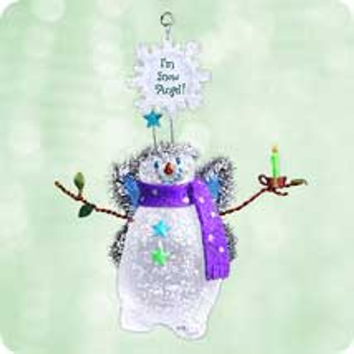 2003 Snow - I'm Snow Angel Hallmark ornament