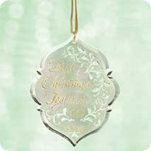 2003 1st Christmas Together - Acrylic Hallmark ornament