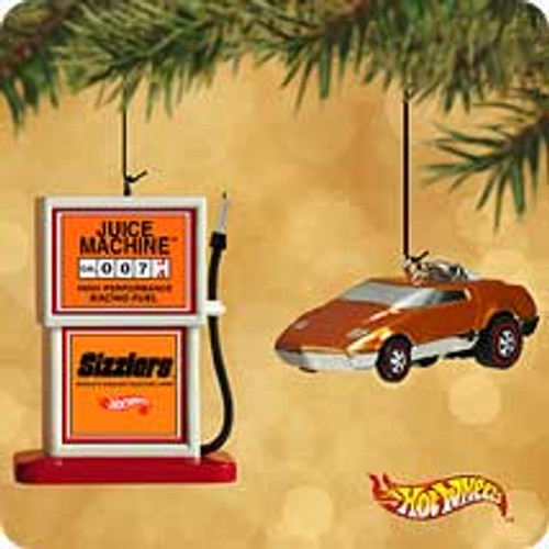 2002 Hot Wheels - Juice Machine Hallmark ornament