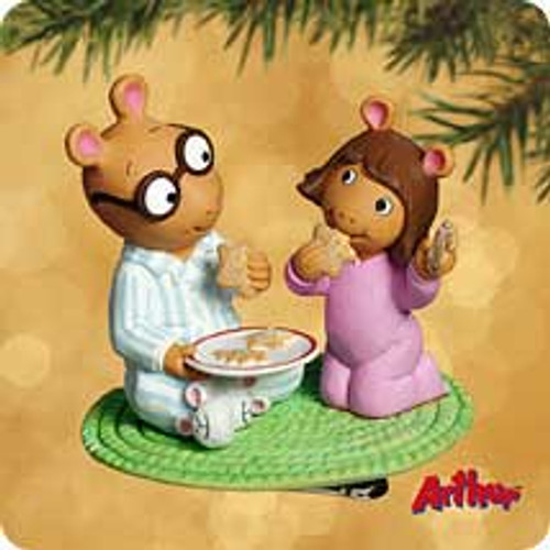 2002 Arthur And Dw Hallmark ornament