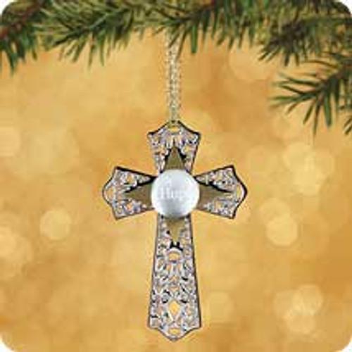 2002 Hope Cross Hallmark ornament
