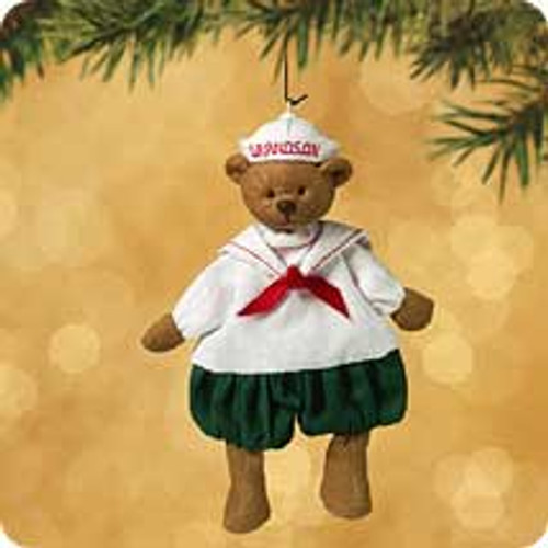 2002 Grandson Hallmark ornament