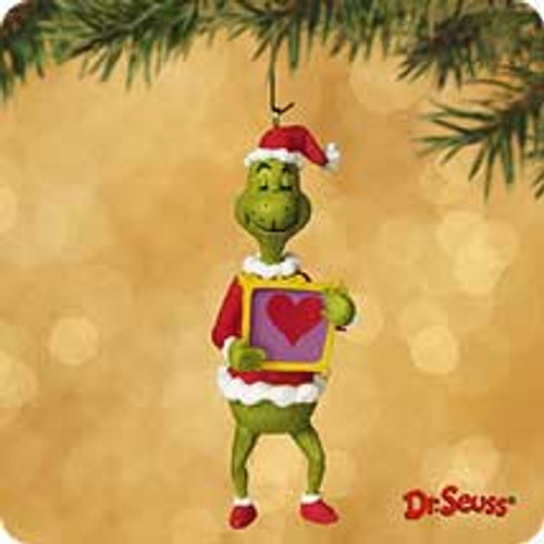 2002 Grinch - Change Of Heart Hallmark ornament