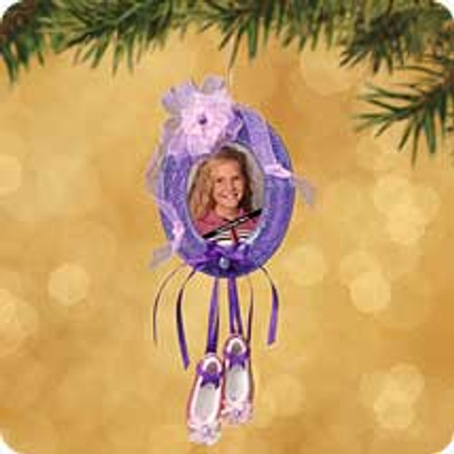 2002 Ballet Photo Holder Hallmark ornament