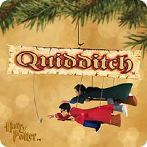 2002 Harry Potter - Quidditch Hallmark ornament
