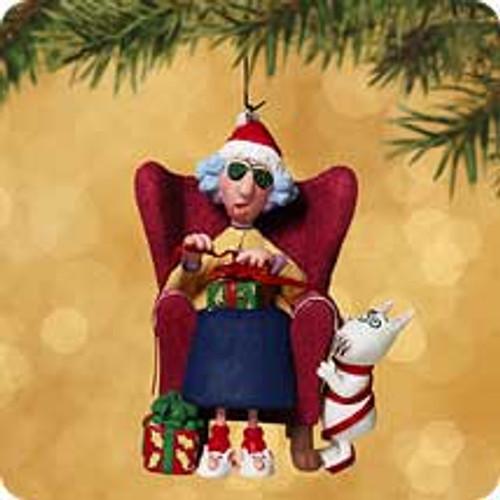 2002 Maxine - I Don't Do Jolly Hallmark ornament