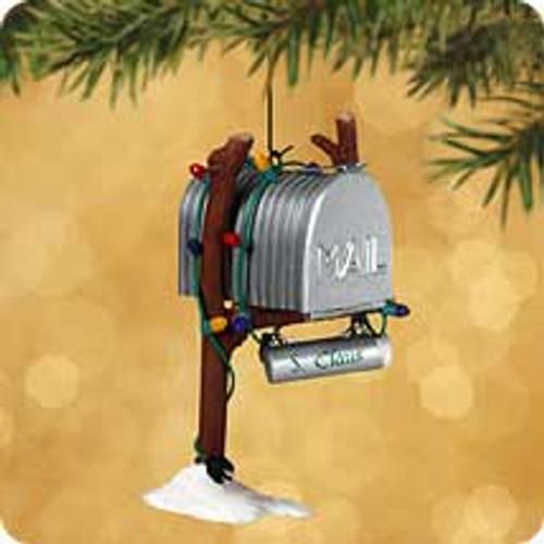 2002 Santa's Mailbox Hallmark ornament