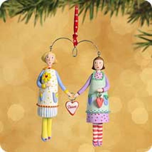 2002 Sisters Hallmark ornament