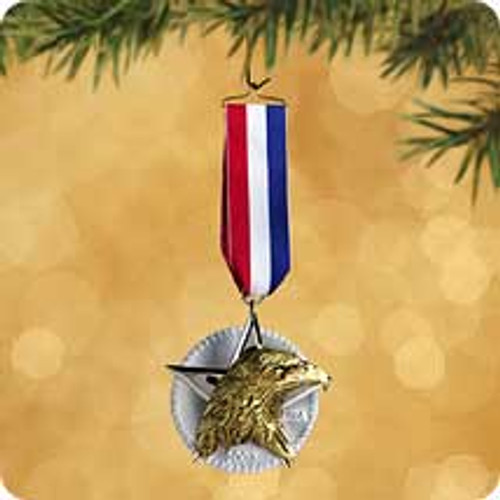 2002 Medal For America Hallmark ornament